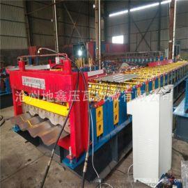 集装箱模块房侧墙瓦楞板生产设备 集装箱板压瓦机