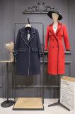 双面尼羊绒大衣女装专柜尾货走份 澳毛羊绒大衣价格高吗