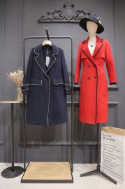 雙面尼羊絨大衣女裝專櫃尾貨走份 澳毛羊絨大衣價格高嗎