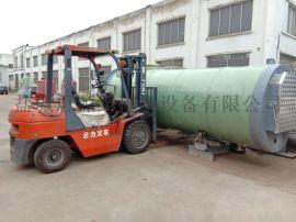 南宁玻璃钢一体化污水提升泵站