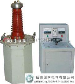 油浸式高压试验变压器厂家_试验变压器50KV