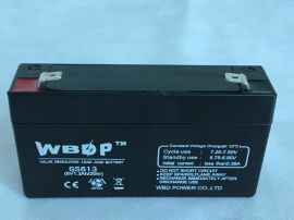 免维护铅酸蓄电池6V1.2AH