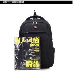 现货双肩背包 新款发布 男女商务电脑包 可加LOGO定制
