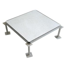 产品特点 1.全钢结构,接写强度高、承载能力强、耐冲击性能好; 2.所有原材料均有优质抗静电性能,使地板系统性能稳定可靠; 3.表面粘贴材料抗静电、耐磨、防水、