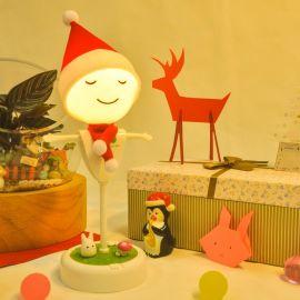 稻草人小夜灯圣诞版 USB充电小夜灯