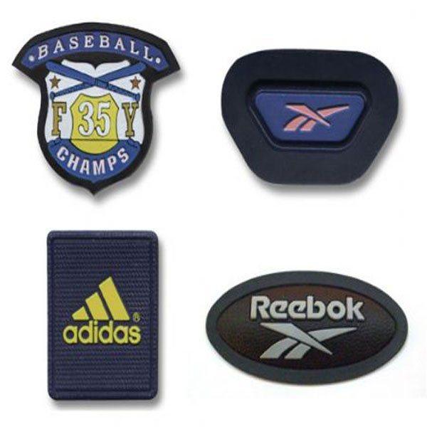 注塑拉头拉片,PVC滴塑标,矽利康硅胶标,丝印标,反光电压标,水晶标