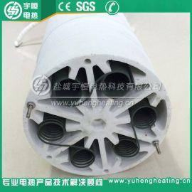 380V13KW工业热风炉风道炉用陶瓷加热器 高温刚玉辐射加热器