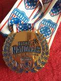 哪里可以定做马拉松赛事奖牌合金双面奖牌深圳旭瑞达专业制作金属奖牌工厂