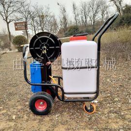 批发60L手推式电动喷雾器蓄电池推车式打药机