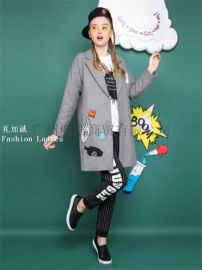 木果果木女裝品牌折扣店貨源找廣州明浩女裝批發