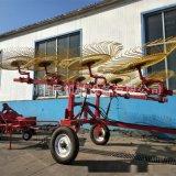 牧草秸稈摟草機 懸掛式牽引式摟草機指盤式摟草機