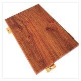 铝单板幕墙 室内热转印仿木纹铝单板材料
