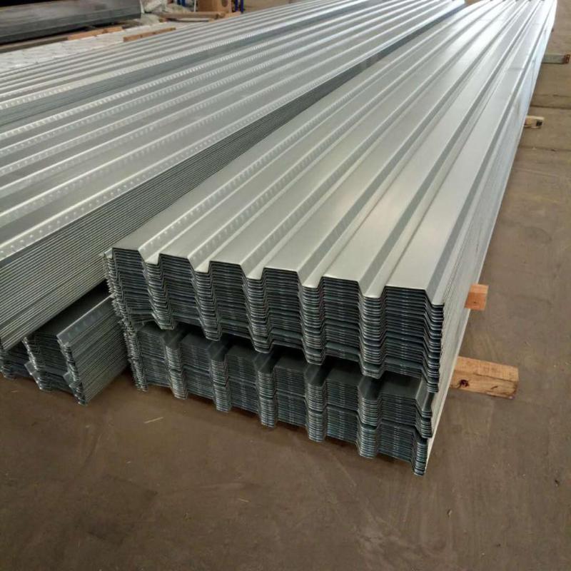 勝博 YX38-152-914型樓承板B36型柔性屋面板0.7mm-2.0mm厚Q345材質AZ150耐指紋鍍鋁鋅壓型板