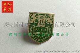 哪里可以做金属校徽,哪里做金属校徽便宜,找做金属校徽便宜的工厂,和康专业做校徽的工厂