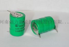 太阳能仪表环保镍**电池3.6V40mAh
