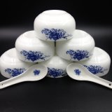 青花瓷套碗订做厂家/深圳陶瓷青花瓷订做