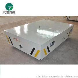 河北厂家胶轮搬运车 平板 无轨电动平板车