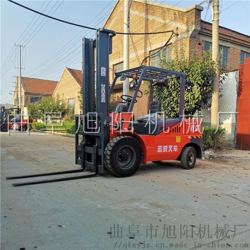 柴油叉車全新3噸柴油叉車四輪座架式燃油叉車省油耐用