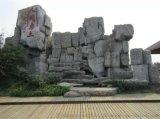 廣州大型假山施工廣州水泥仿木欄杆安裝