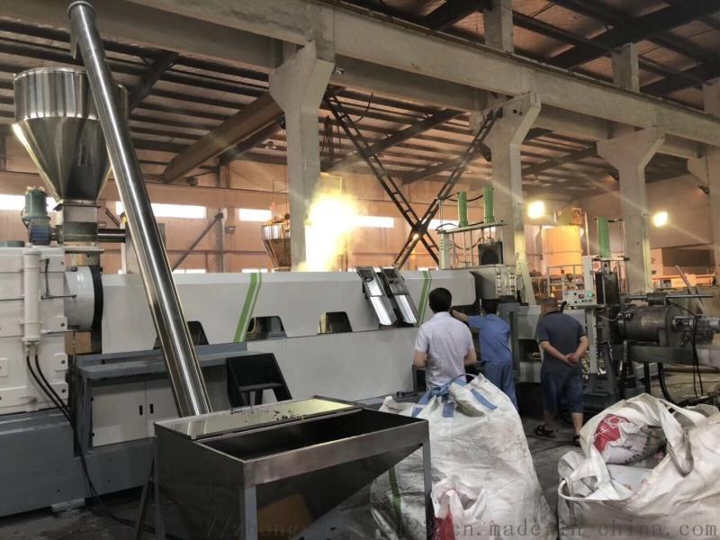 小中空塑料回收造粒挤出机  中塑机械研究院
