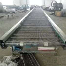 网带清洗输送机厂家直销 水平直线输送