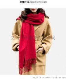 专业生产羊绒羊毛晴棉真丝围巾丝巾方巾披肩各类印花