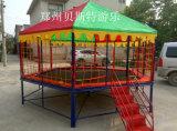 黑龙江齐齐哈尔多边形钢架蹦蹦床厂家订购