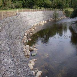 运河护坡石笼网 铅丝石笼网箱绿格石笼网
