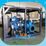 大流量柴油机中开泵  鱼塘抽水 柴油机水泵机组  防汛应急泵
