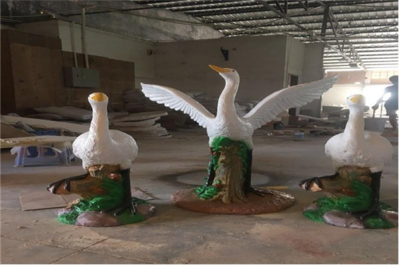 玻璃钢景观人物雕塑 人物雕塑定制