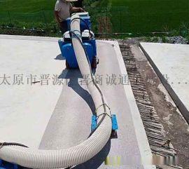 河南驻马店550型钢板除锈机小型地面钢板除锈抛丸机厂家价格