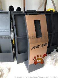 可视对讲机不锈钢立柱支架 主机不锈钢支架定做厂家