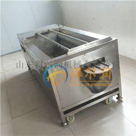 土豆红薯毛辊清洗机 去皮机 青萝卜毛刷清洗机