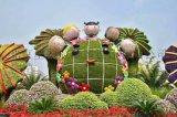北京五色草绿雕厂家 绿植雕塑 植物墙 仿真绿雕造型厂家