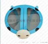 供应环保ABS镜3D眼镜,双面抗刮伤,儿童眼镜