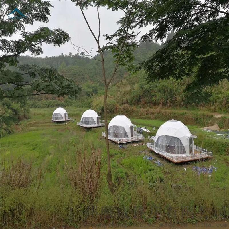 戶外球形pvc帳篷大型鋁合金帳篷篷房