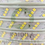 led2835-120珠斜三排高压灯带单色有色光