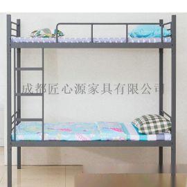 绵阳钢木学生床厂家制作|绵阳经典款学生双层床高清图