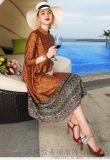 服裝專賣品牌在哪余拿貨西子絲典顯瘦中長款魚尾裙