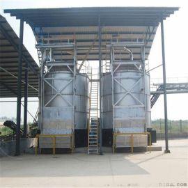 猪粪翻抛机有机肥生产线生产工艺结构图