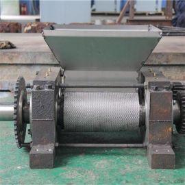 有机肥挤压干法造粒机 造粒机生产线与磨具 对辊挤压造粒机的结构