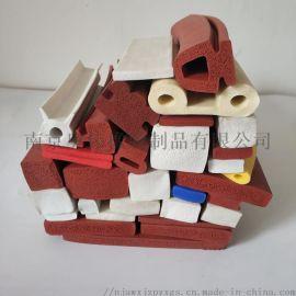 供应硅橡胶各种颜色尺寸橡胶密封条