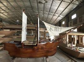 上海户外游乐园景观装饰船**室内海盗木船厂家**
