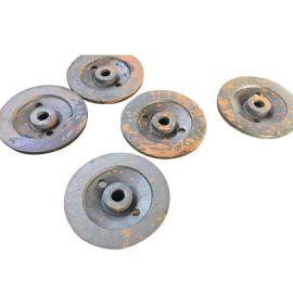 异形轴盘 孔42*110,外径200铸造不锈钢轴盘