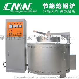 创美威 节能熔铝炉 省电熔铝炉 铝合金熔炼炉