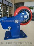 奔宇脚轮 6寸重型减震轮 聚氨酯定向防震轮 承重脚轮