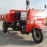 矿用柴油三轮车 加长液压自卸三轮车
