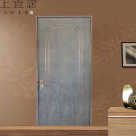 客厅木门 现代简约烤漆门卧室实木门定制厂家直销