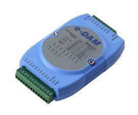 EDAM-9017 Etrernet 7-ch RTD input 数据采集输入模块analog