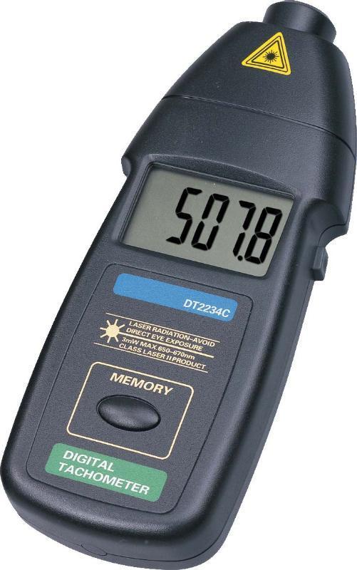 现货免邮设备非接触式激光转速表DT2234C